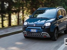 Új Fiat Panda Hybrid Cross