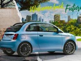 Új elektromos Fiat 500
