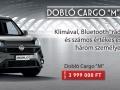 """Doblo Cargo """"M"""" szériák"""